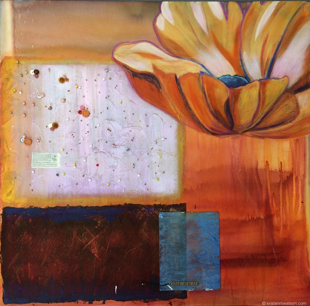 Poppy_2014_acrylic mixed media on canvas_36x36in_©2014 kristenmwatson 2.jpg