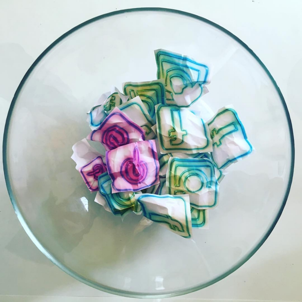 Eat Your Media_Serving Bowls_glass, paper_©2016 kristenmwatson_1.jpg