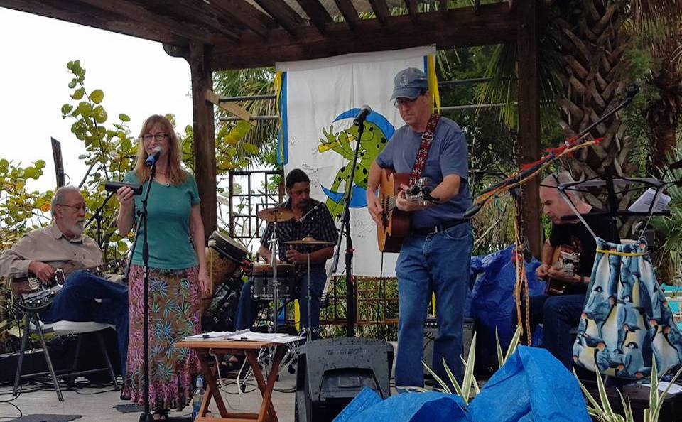 The Joe Milligan Project at Green Frog Moon Festival March 19, 2016.