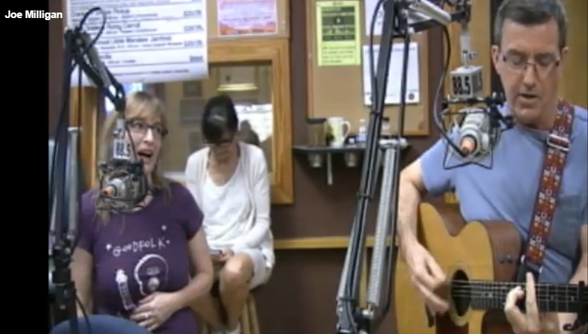 Joe and Mandy on the WMNF Florida Folk Show September 3, 2016