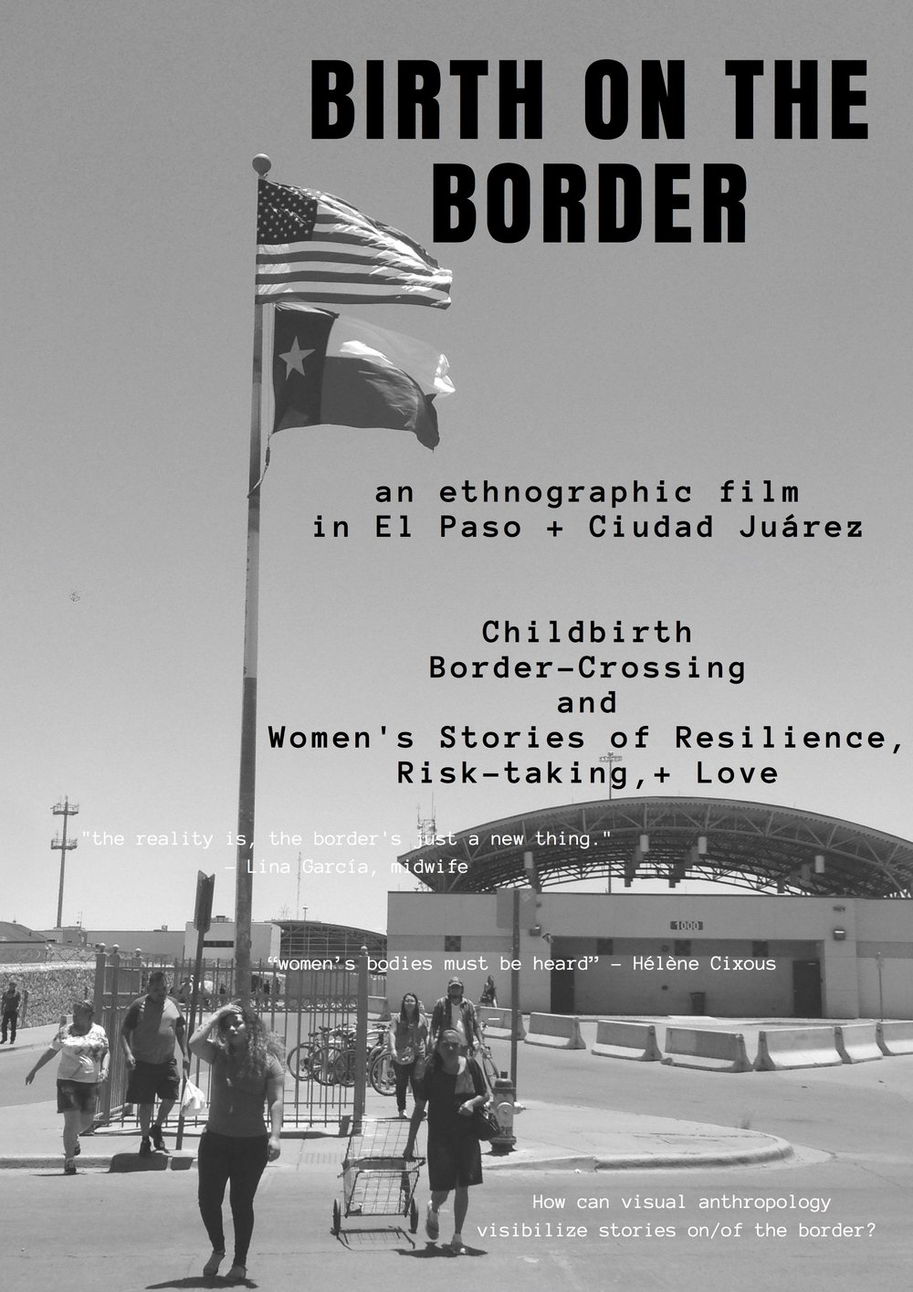 Birth on the Border Film Black and White Poster.jpg
