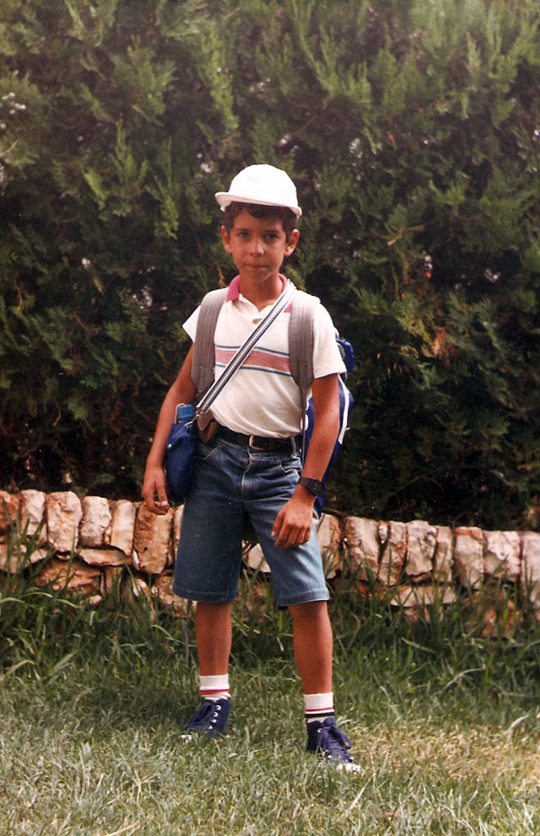 Fotografía de Felipe Sanz, año 85