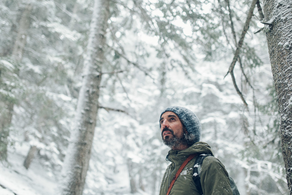 Álvaro en Alt Pirineu. Foto de Jordi Rulló