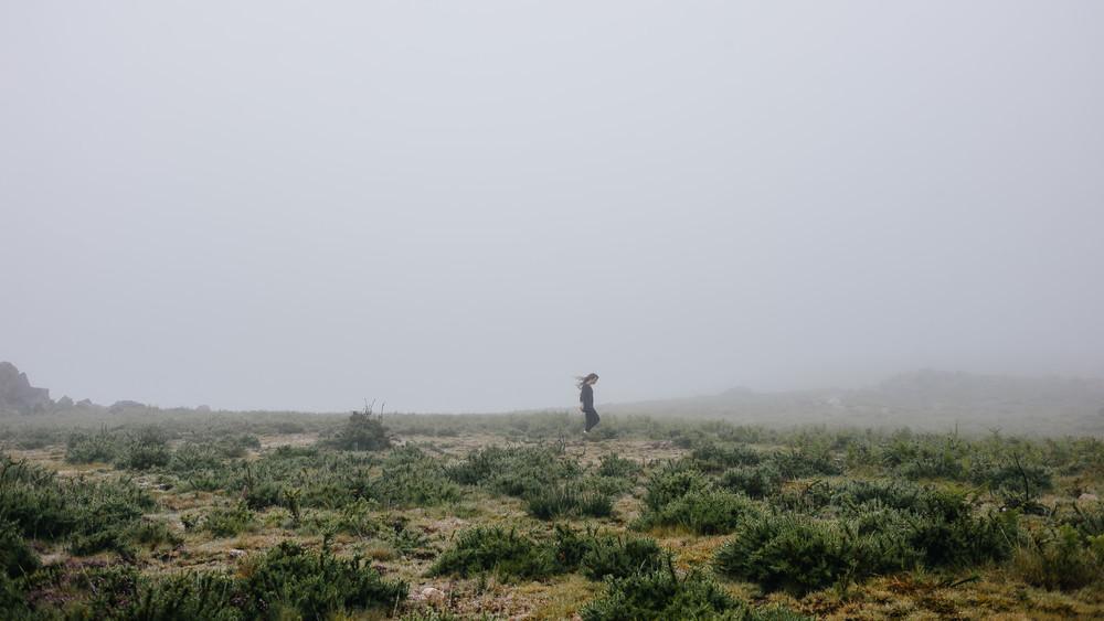 Mònica en el Parque nacional de Gerês, Portugal. Foto de Álvaro Sanz