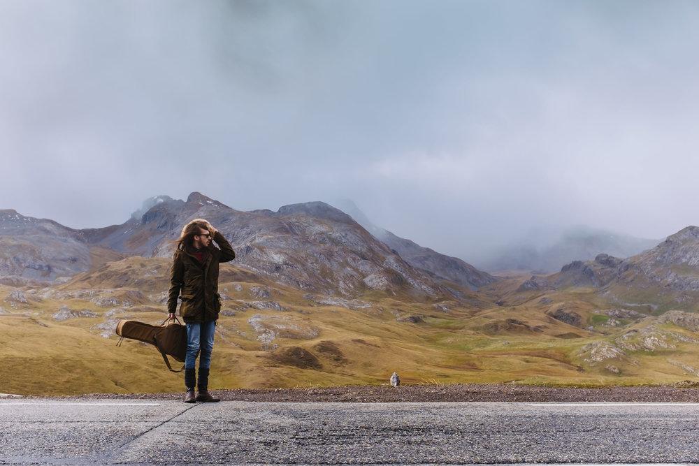 Carlos Sadness en Monte Perdido. Foto de Álvaro Sanz