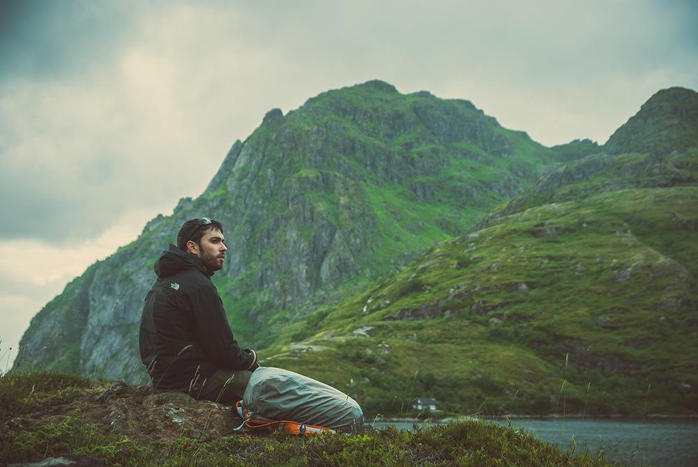 David en Noruega. Foto de Abel Vilches.