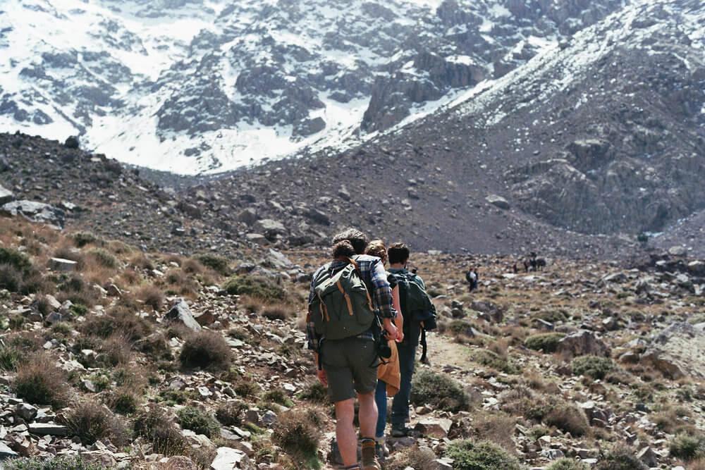 Trekking por las montañas de marruecos | Foto: Alberto Muriel