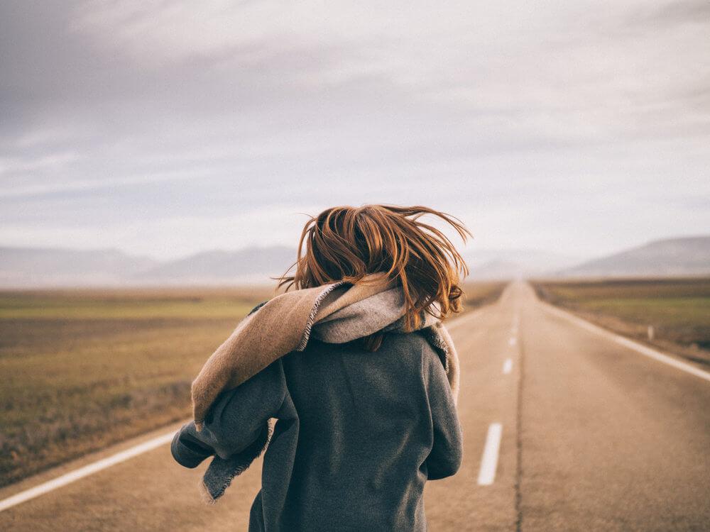 Corriendo por las carreteras de Gallocanta | Foto: Álvaro Sanz