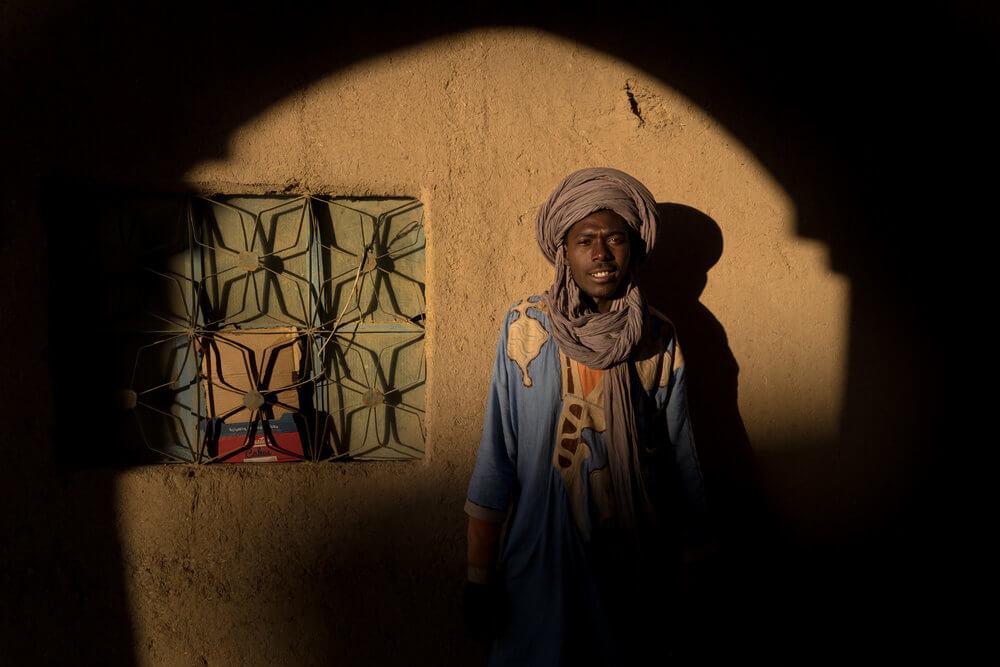 Las sombras de Merzouga | Foto: Juan Sisto