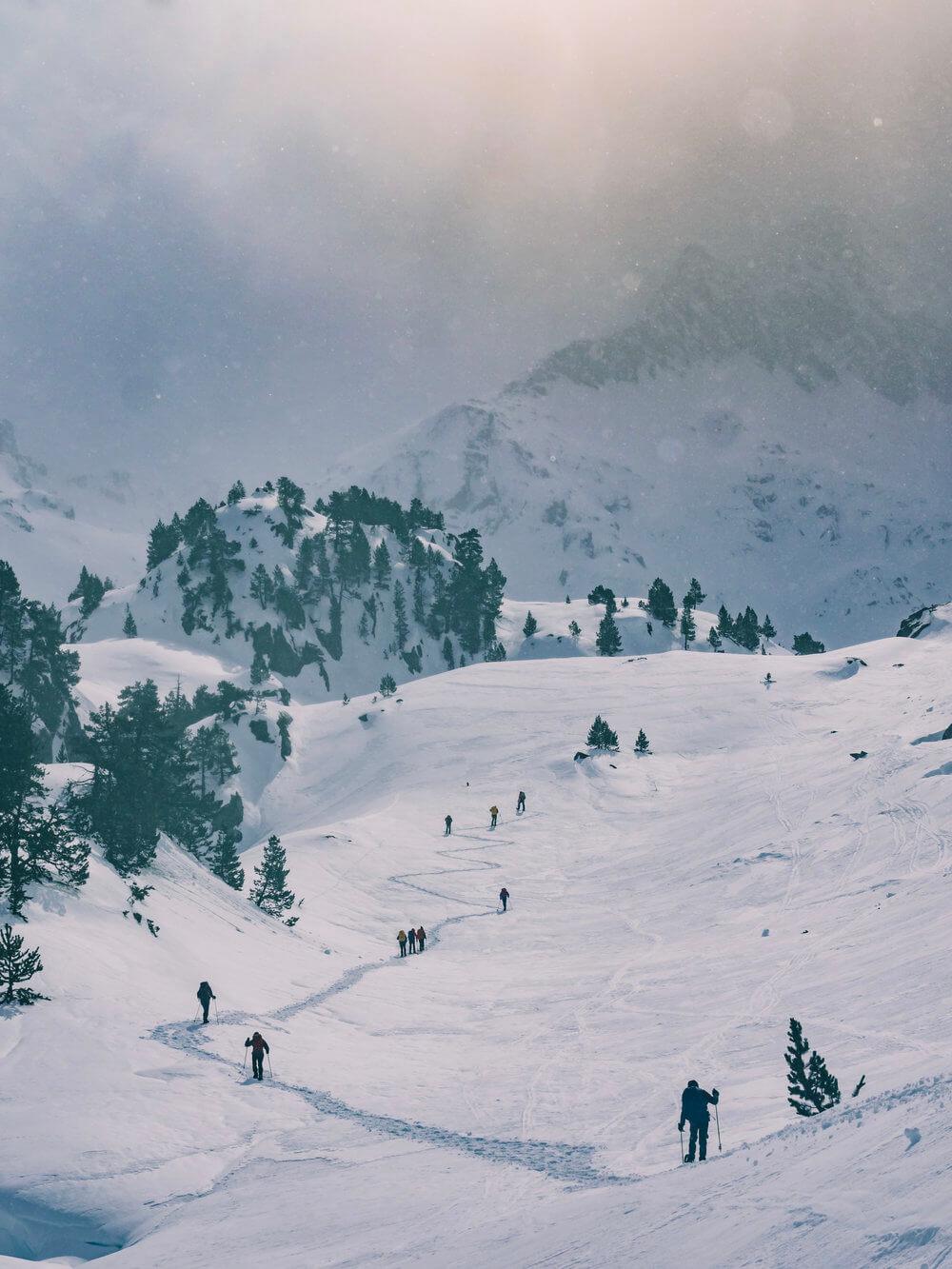 Expedición en raquetas por la Vall d'Aran | Foto: Álvaro Sanz