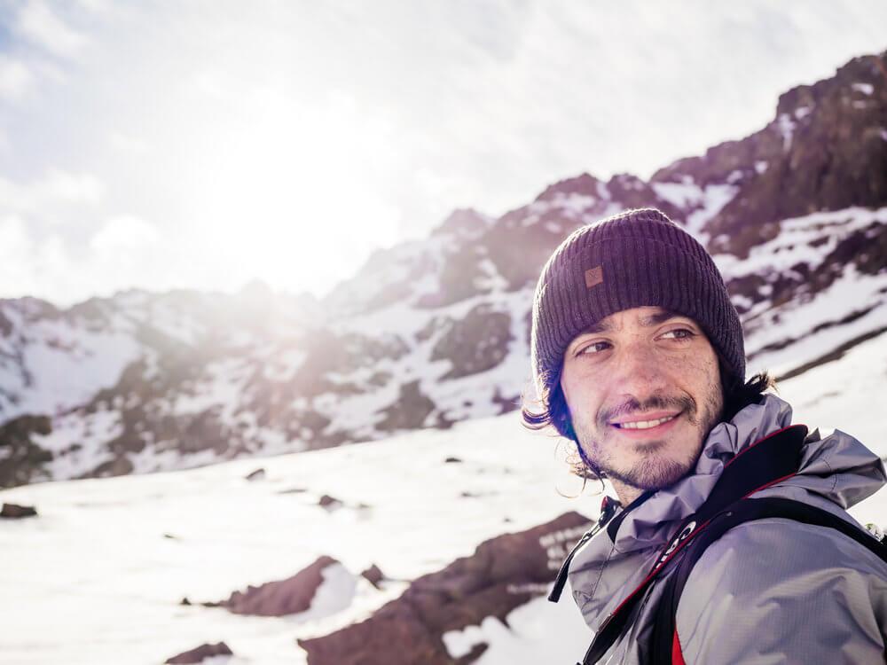 Satisfacción de llegar a la cima | Foto: Álvaro Sanz