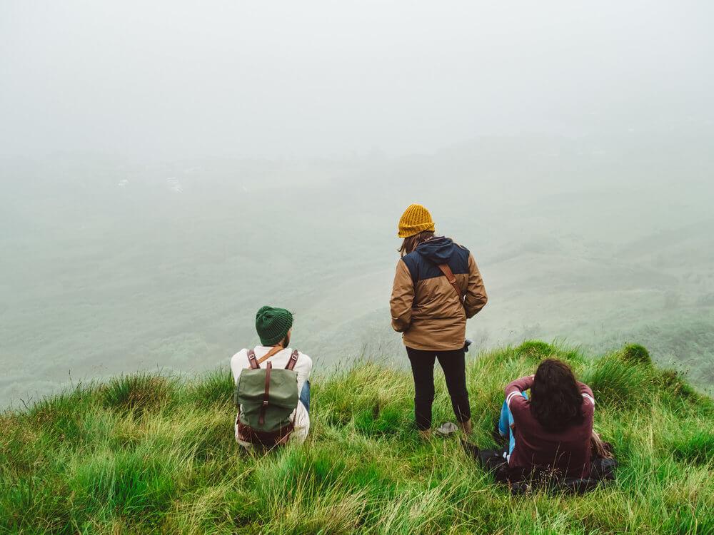 La niebla y el horizonte escocés | Foto: Álvaro Sanz