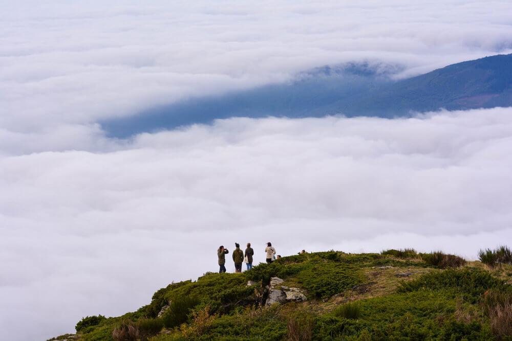 Mar de nubes en el Montseny | Esther Pérez