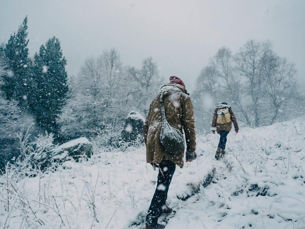 Excursión por la nieve en los Pirineos | Foto: Álvaro Sanz