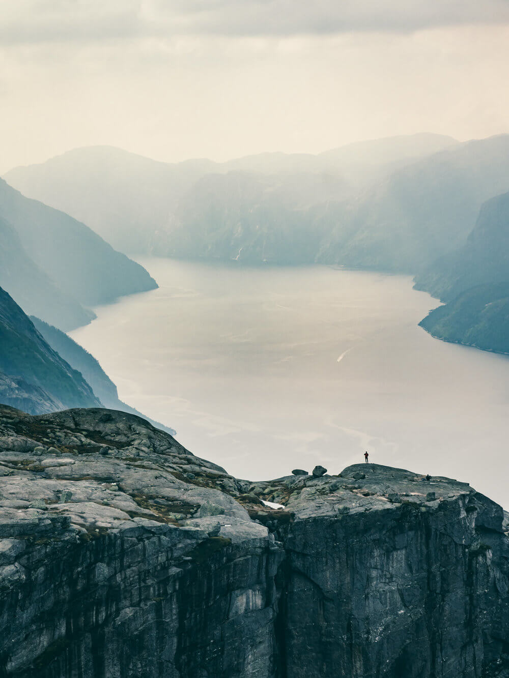 Vistas del Lysefjord de Stavagner | Foto: Álvaro Sanz