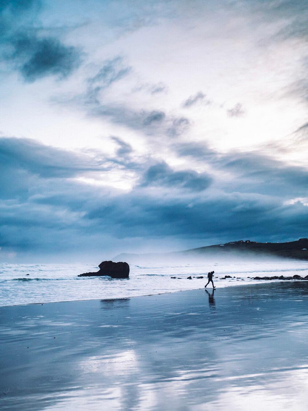 Las salvajes playas de Cantabria | Foto: Álvaro Sanz