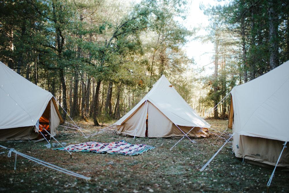 campamento fotografico
