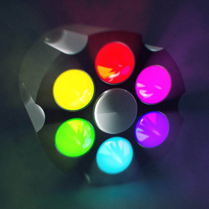 Color Revolver - Ray Dynamic Color Extension Coming Soon!