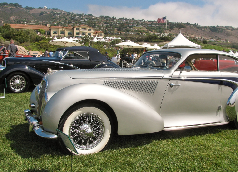 PV Concours 2012, Bentley Display, 1930's. Photo by Kay Finer.JPG