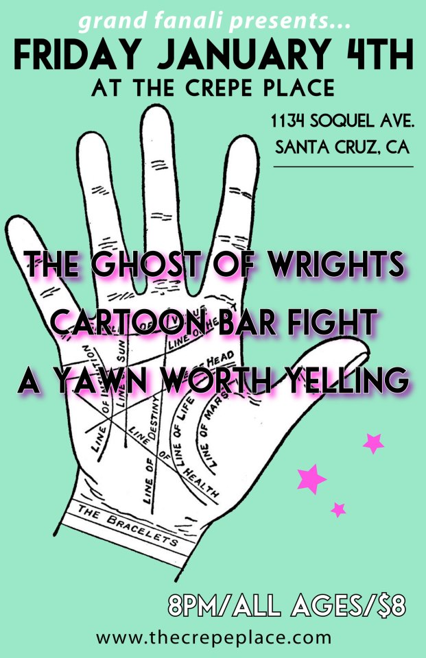 NEXT TOUR STOP — TONIGHT IN SANTA CRUZ! 8PM/ALL AGES/$8!
