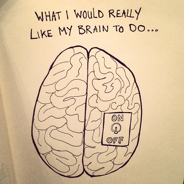 What I would really like my brain to do… #sketch #sketchbook #drawing #doodle #pen