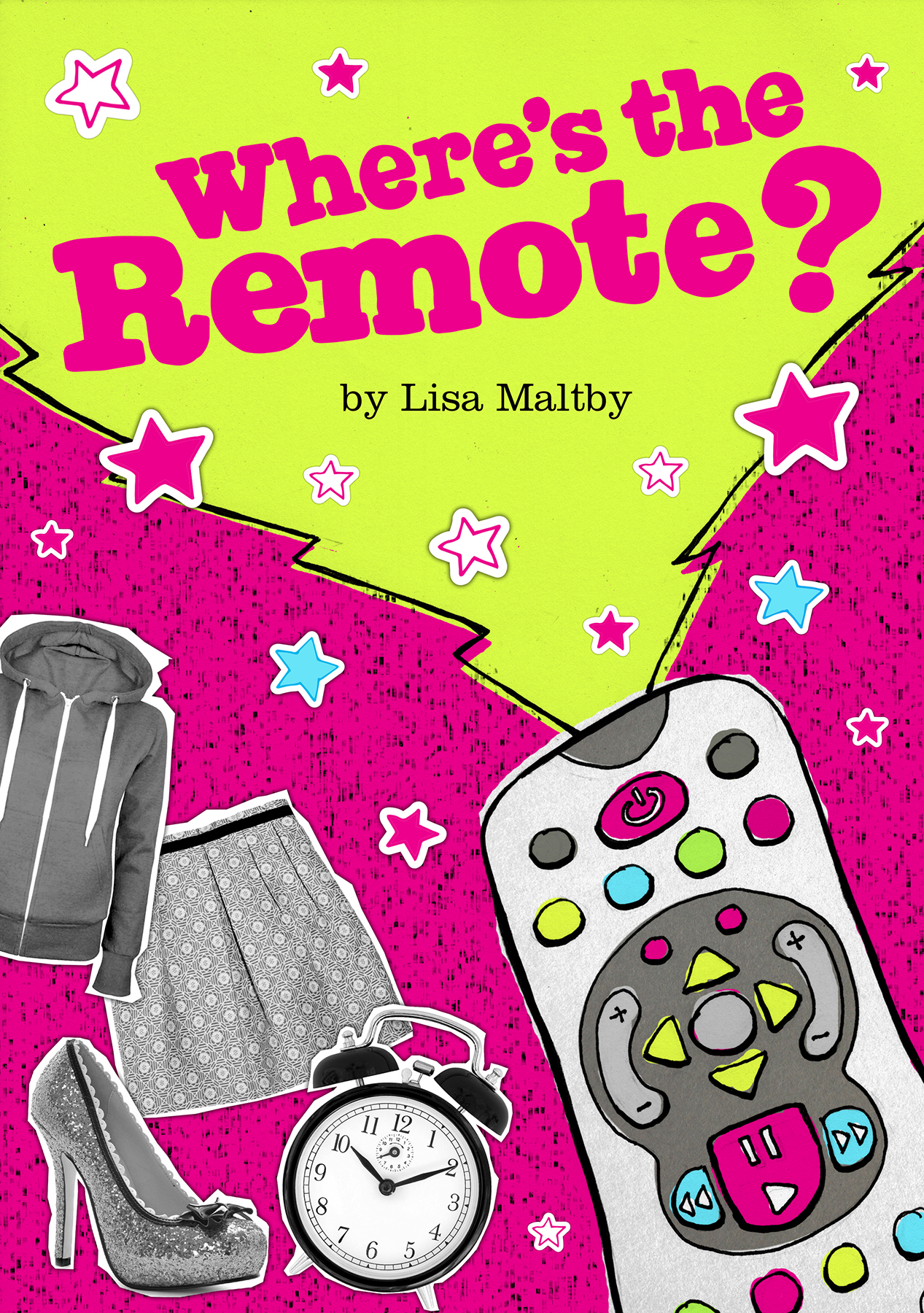Lately I have been doing more writing for children. My previous books have been picture books for 5-8 year olds, but I've recently been writing one for 7-12 year olds called 'Where's the Remote?'. This is a story about the mysterious disappearance of the TV remote and how the re-discovery of it transforms the life of one girl called Ava. Ava's Dad is an inventor (when he's not working as a postman that is). He finds a way of transforming an ordinary TV control into a Time control device, meaning that Ava's somewhat disorganised family will never be late for anything again. When Ava gets her hands on it, she can't believe her luck. But after a series of funny and exciting events, Ava soon realises the huge responsibility of being able to control time.  I will be entering this book into the Montegrappa Scholastic Prize for New Children's Writing. Wish me luck!
