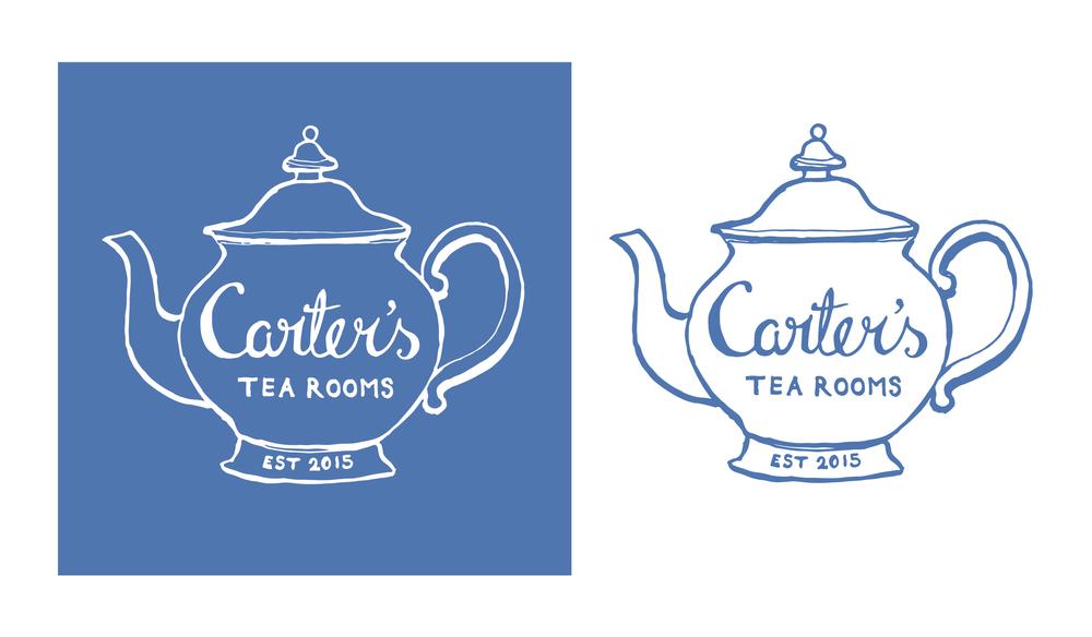 illustrated logo design