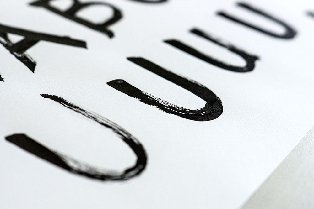 lettering artist