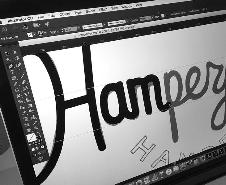 digital lettering