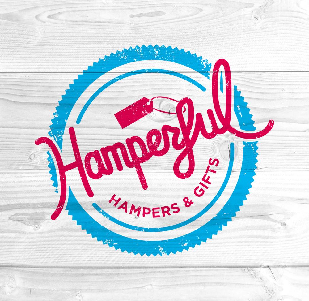 hamperful illustrated logo