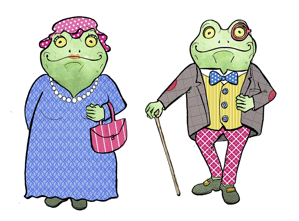 toad of toad hall illustration