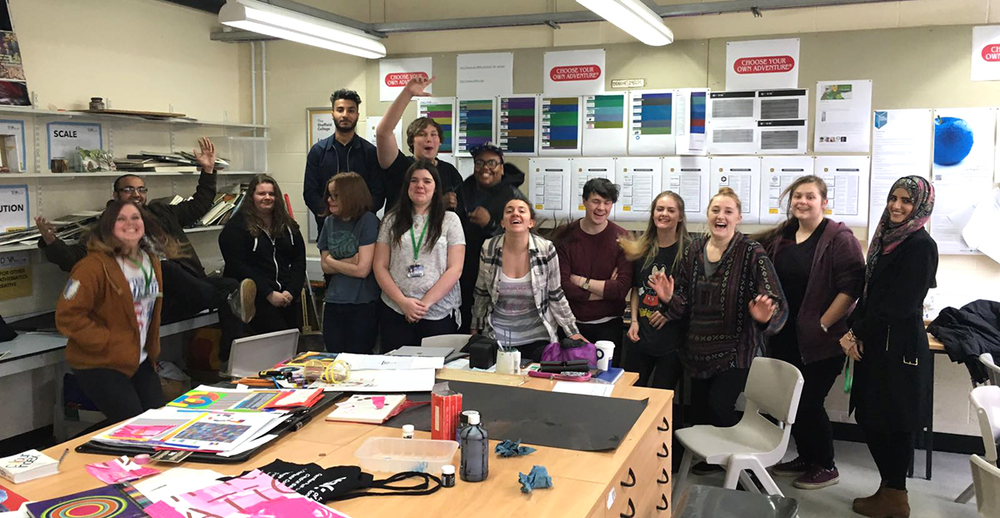 I had fun reviewing the final projects of this lovely bunch! Good luck with your final projects!