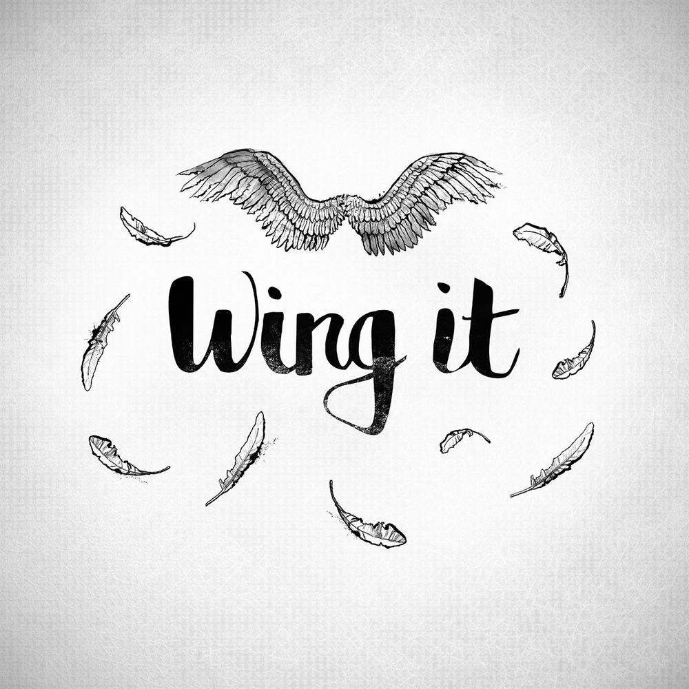 wing it lettering