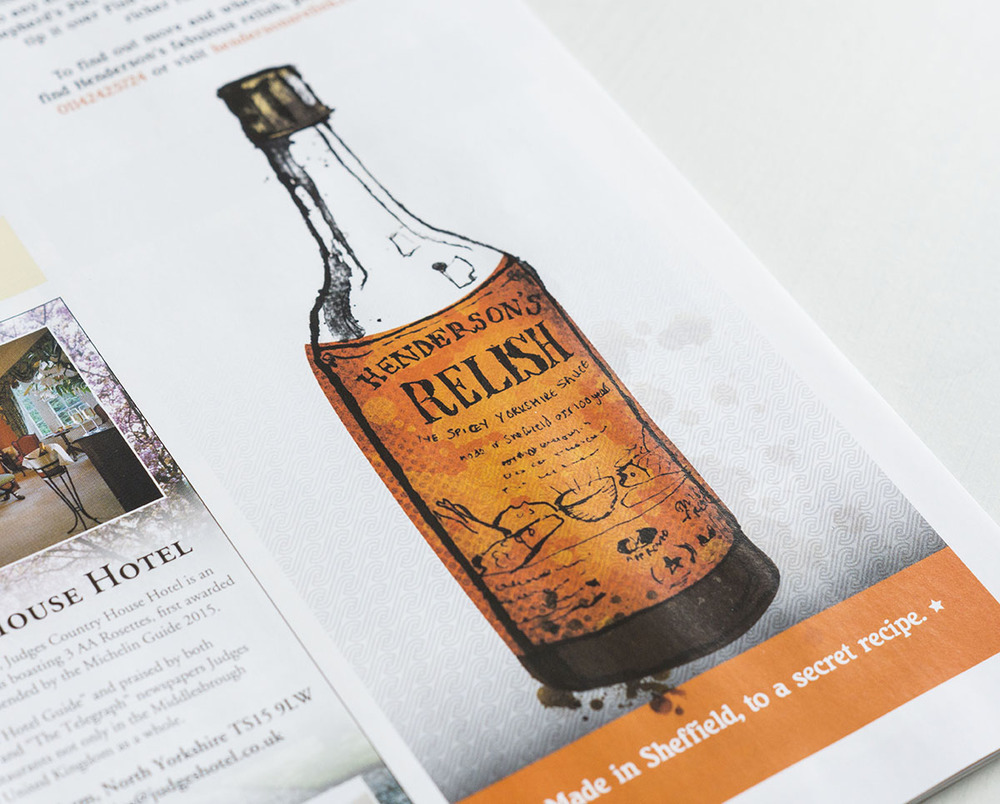 henderson's Relish illustration