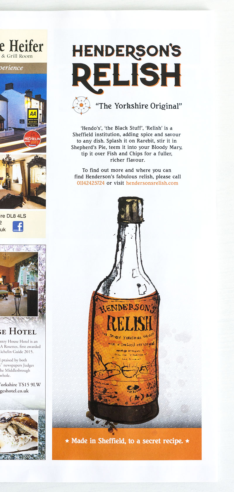 henderson's relish advert