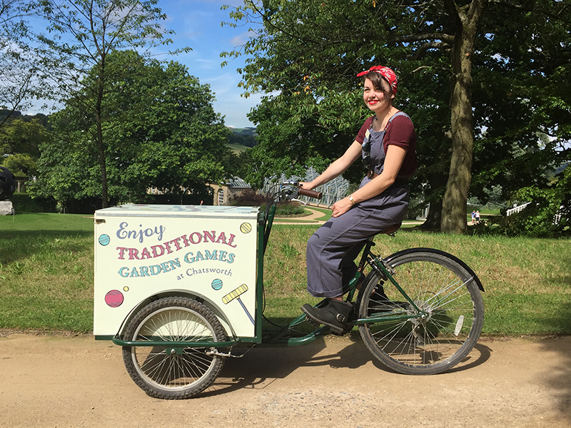 chatsworth house bicycle box