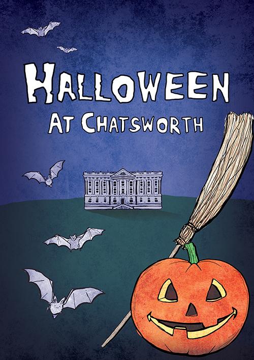 chatsworth halloween cover illustration