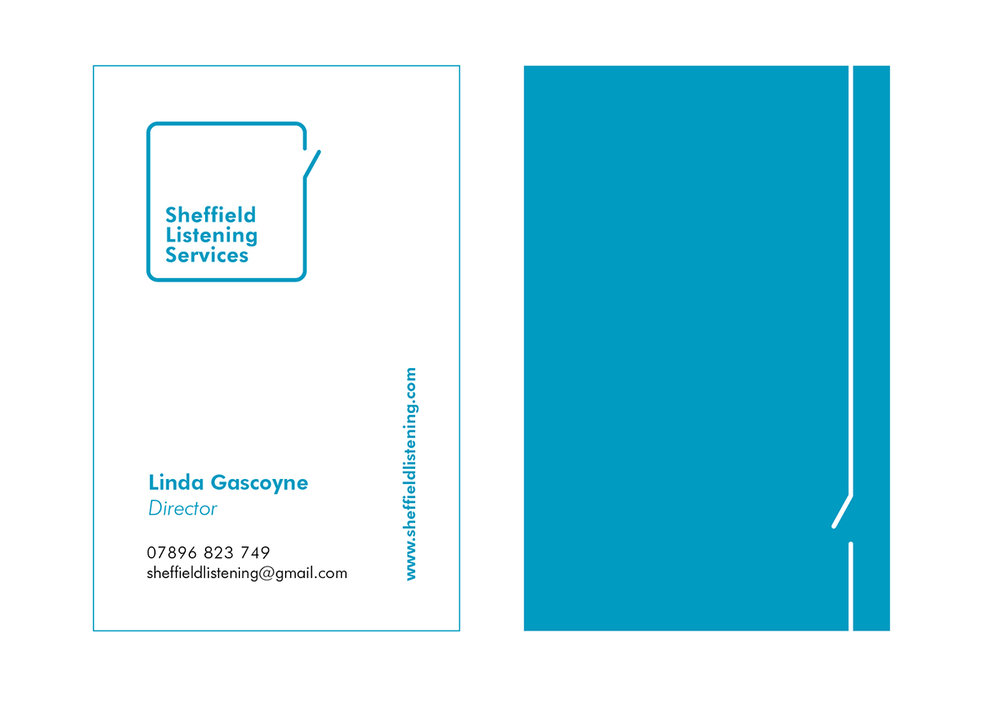 sheffield listening business cards