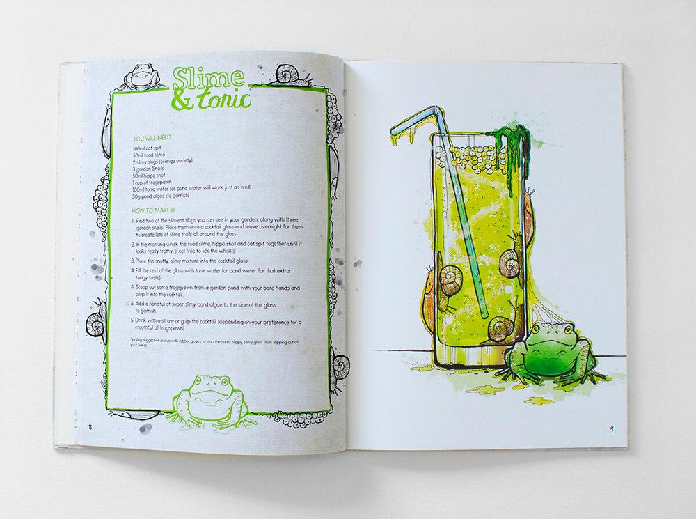 slime and tonic