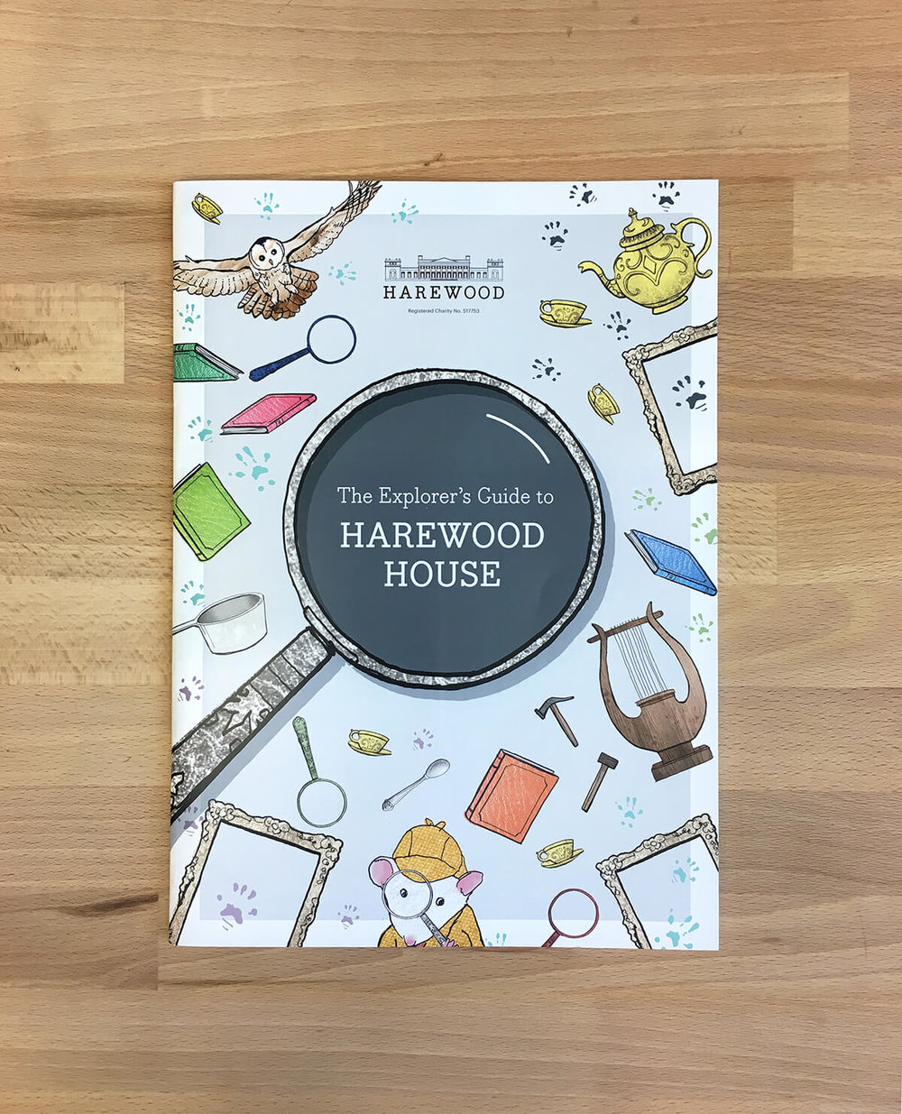 Harewood house illustrated cover