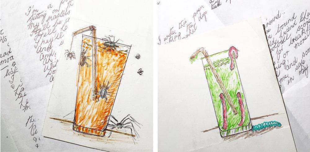 My Gran's drawings