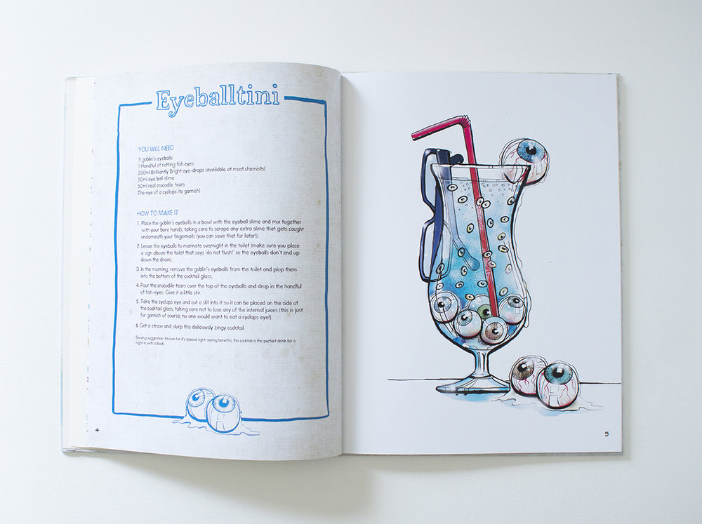 The Glorious Book of Curious Cocktails
