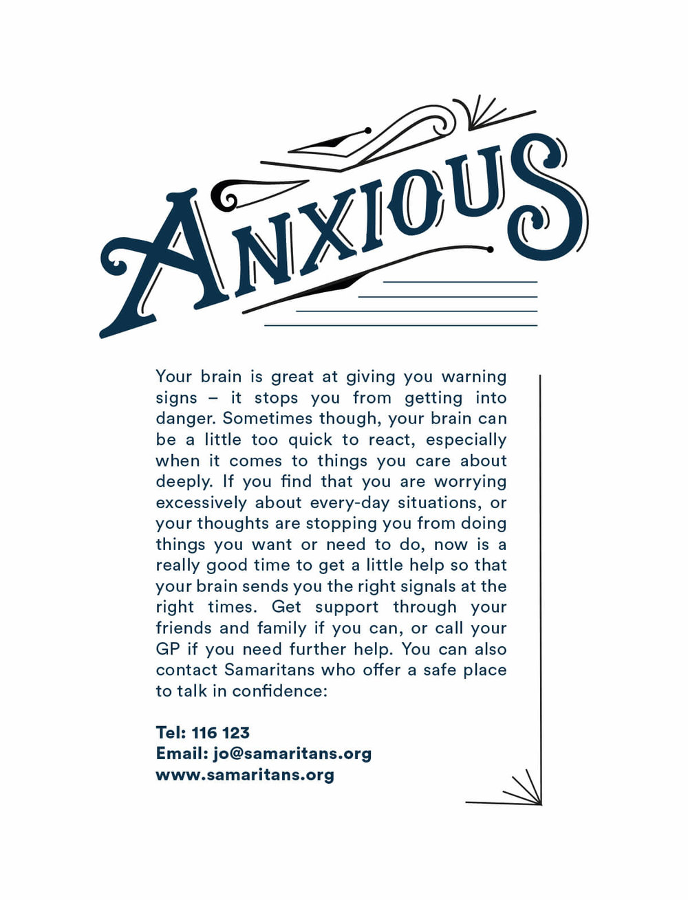 Anxious label