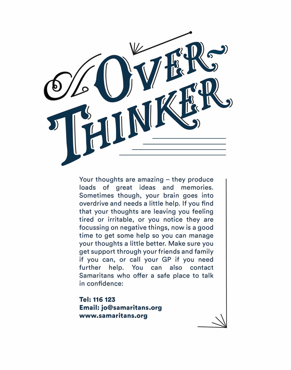 overthinker help