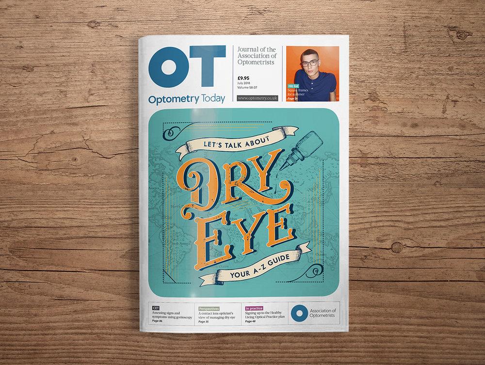 OT magazine illustration