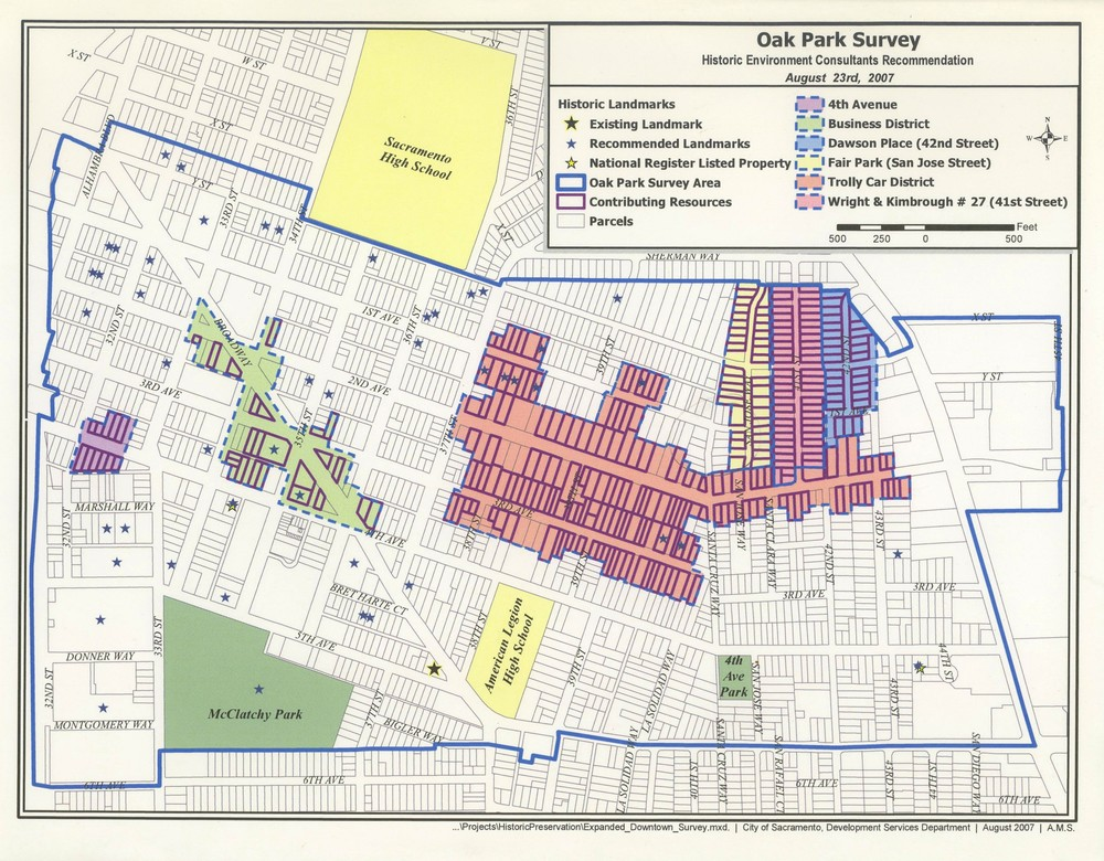 HISTORIC DISTRICTS Preservation Sacramento