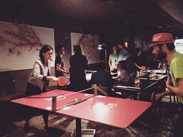 Adventure Club does Mini Pong! Special Guest: @noelkwan  @minipongtoronto #pingpong #toronto #casual
