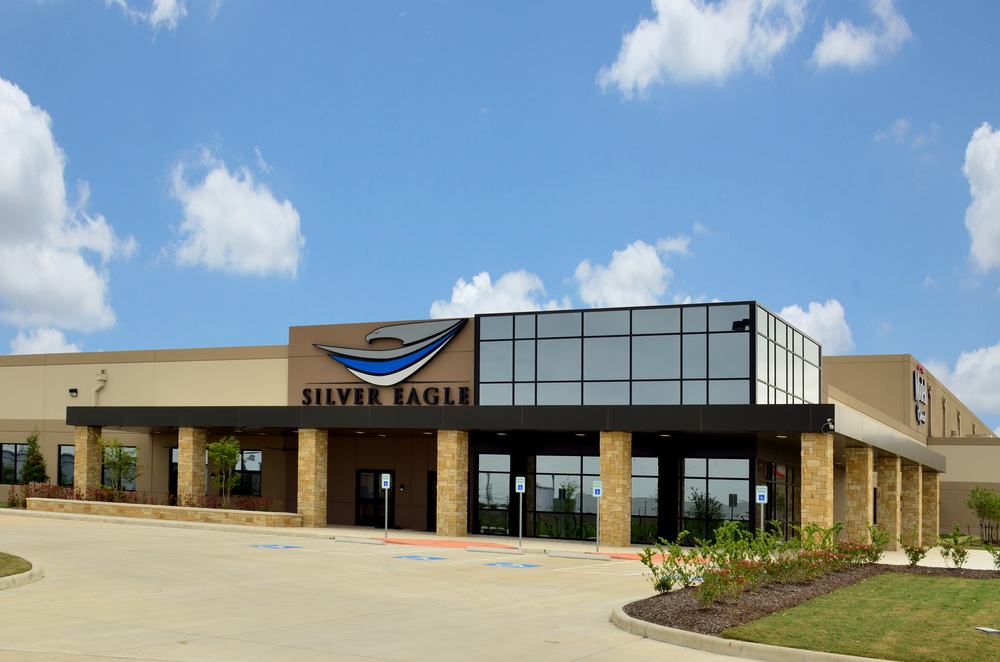 Silver Eagle. Project designed and managed by Oscar Valdez working at Haynes Whaley Associates