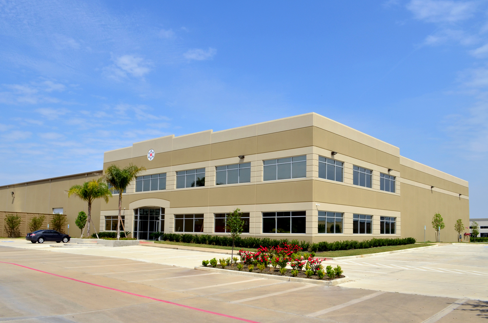Unique Industrial. Project designed and managed by Oscar Valdez working at Haynes Whaley Associates
