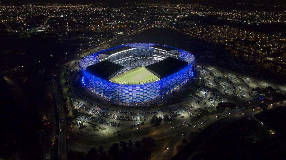 Cuauhtemoc Stadium.  Puebla Mexico. Image Courtesy of Dunn LWA